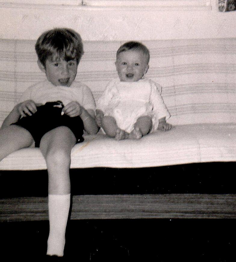 Hansi mit Sabine 1970