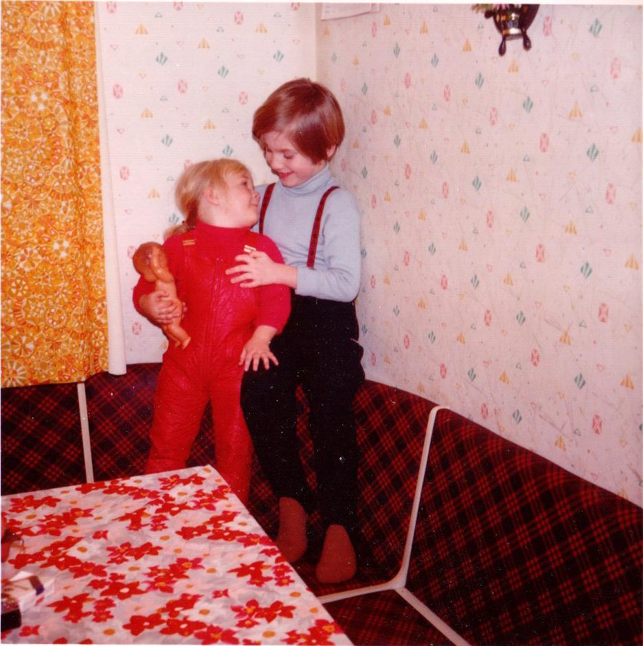 Hansi mit Sabine 1972