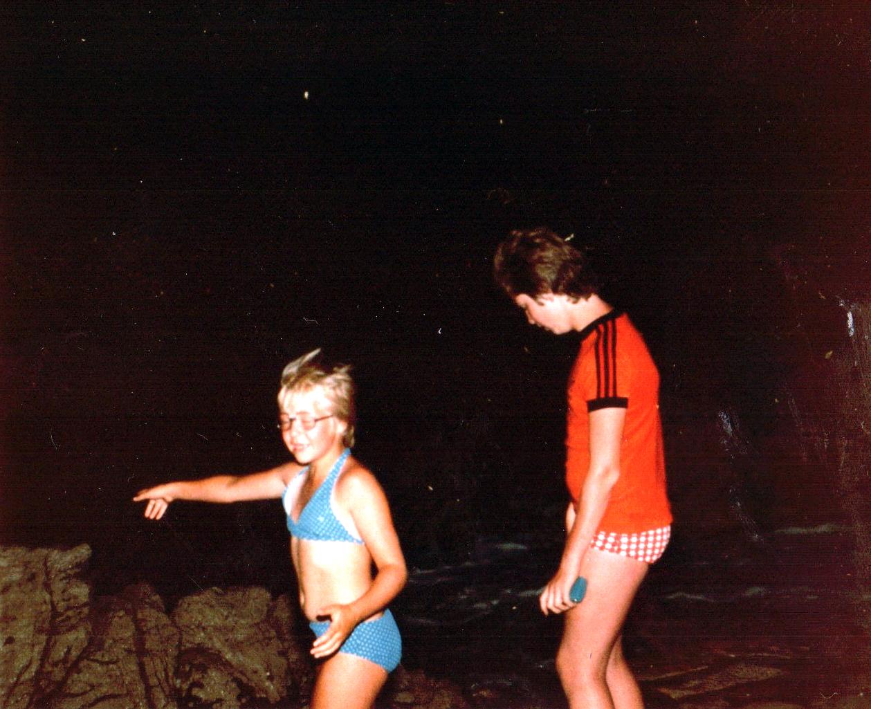 Hansi mit Sabine 1981