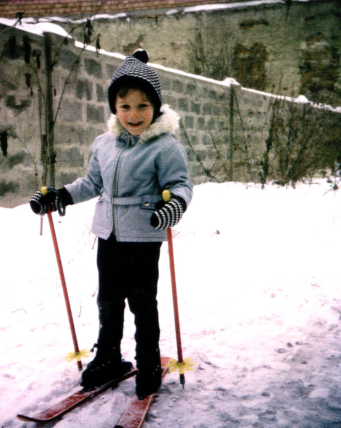 Skifahren 1970