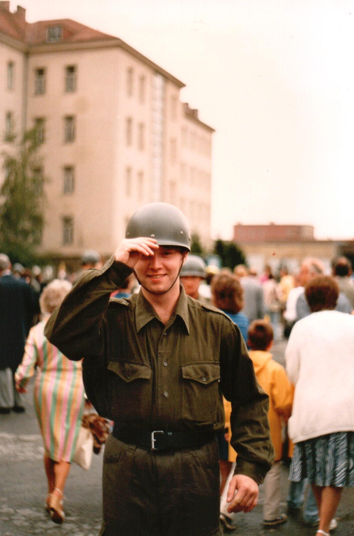 beim Bundeheer 1987